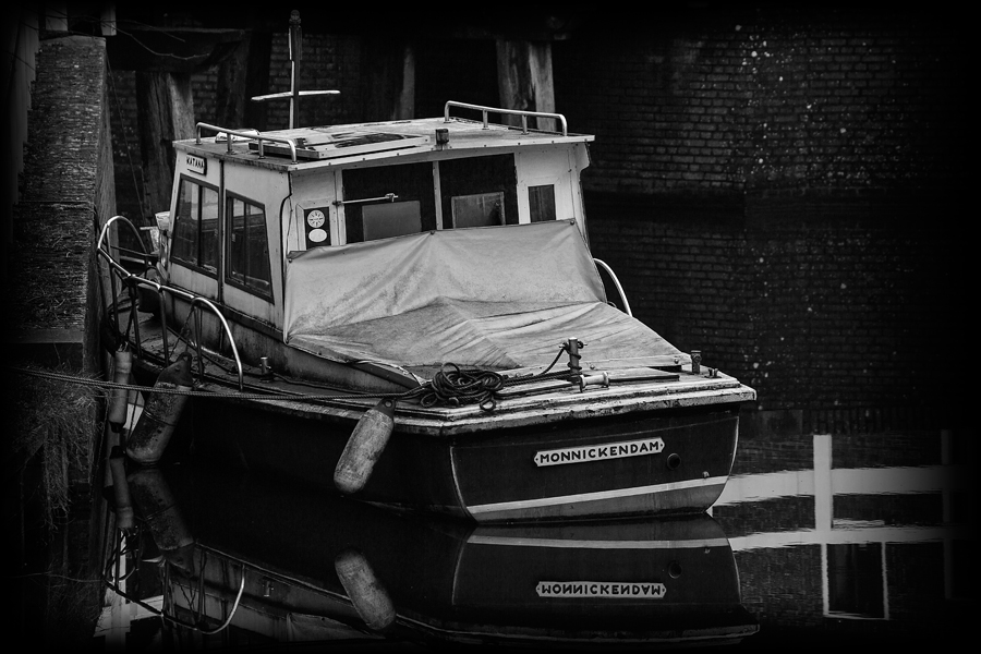 A tired old boat...
