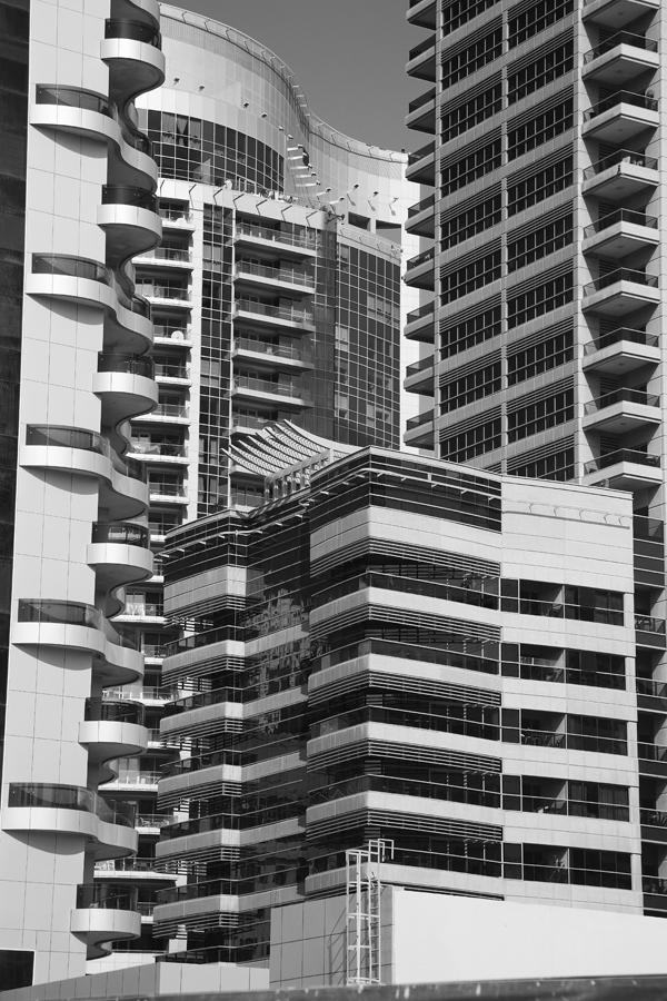 Dubai - tall buildings