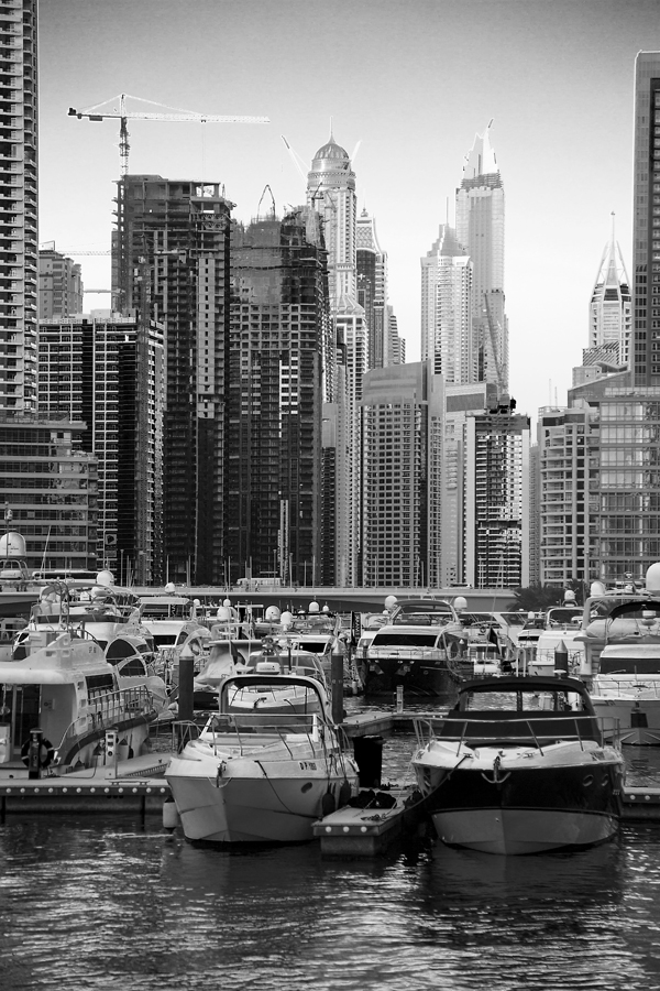 Boats and Buildings - Dubai