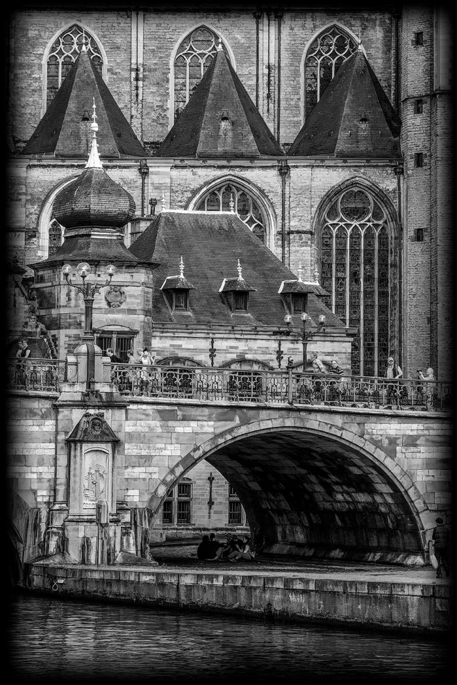Archway in Ghent