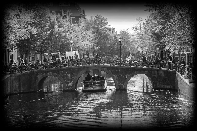 Bikes Boats Bridges - Amsterdam