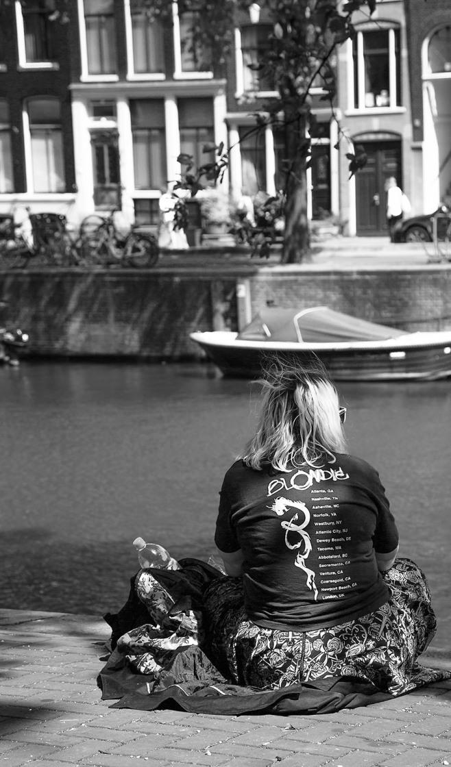 Blondie in Amsterdam
