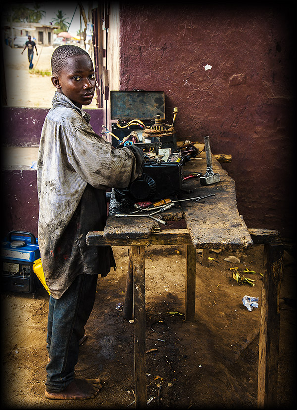 The Young Mechanic