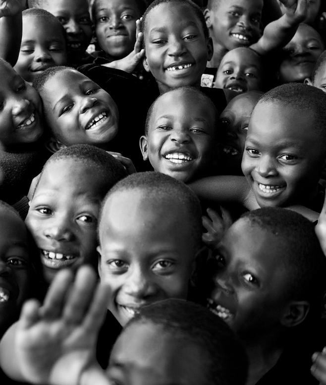 Schoolgirls in Uganda