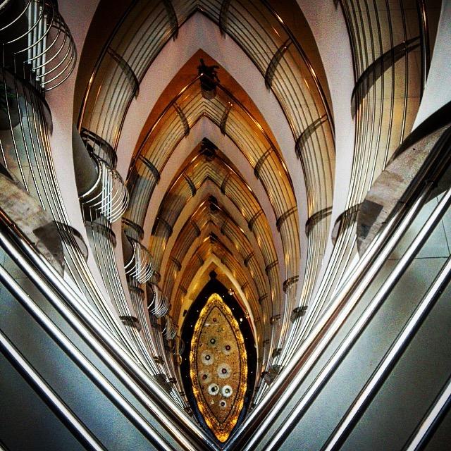 Dubai hotel stairwell