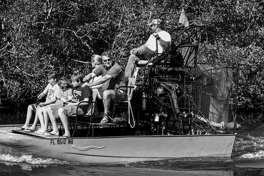 The Swamp Boat by The Photo Nomad
