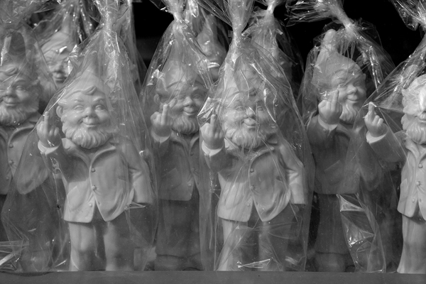 The Rude Gnomes