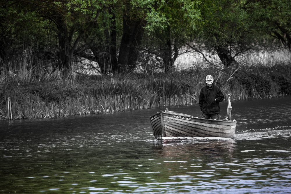 The Man in a Boat
