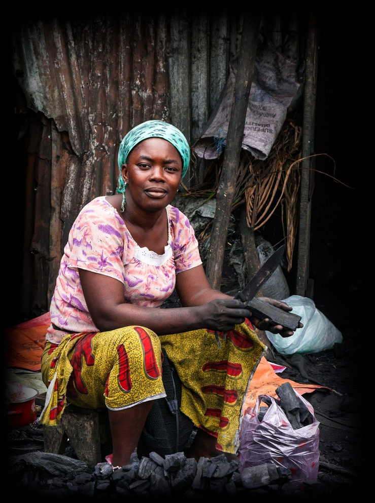 The Charcoal Lady