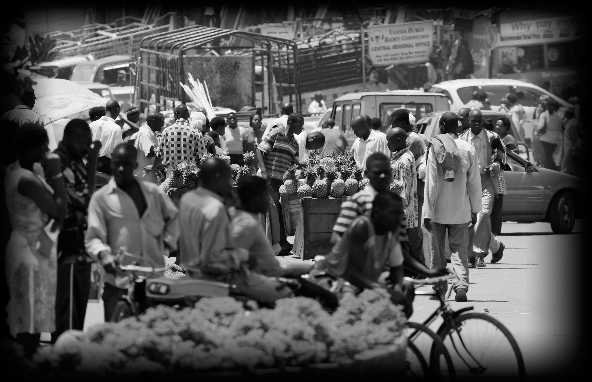The Pineapple Seller