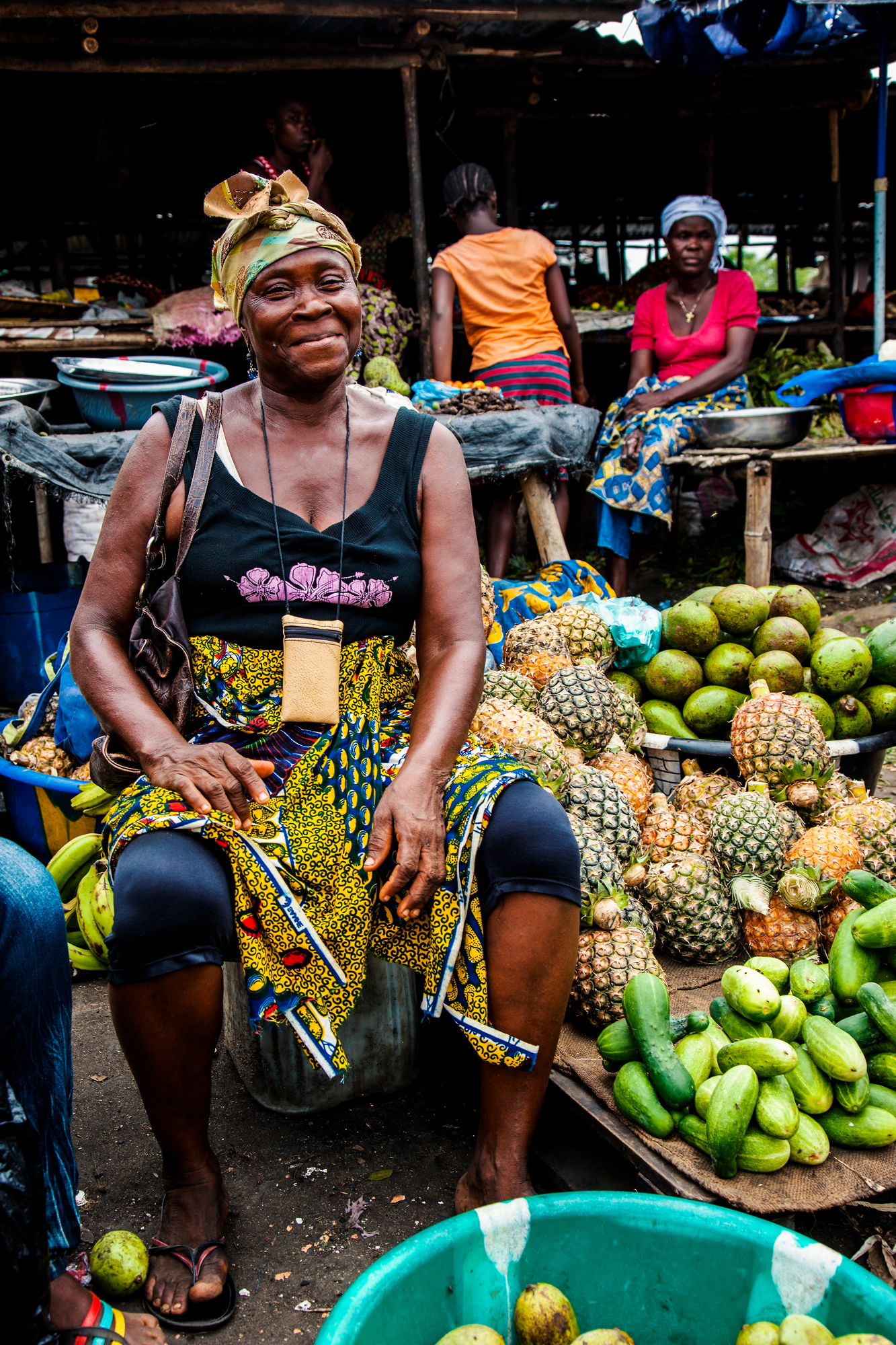 the Pineapple Lady