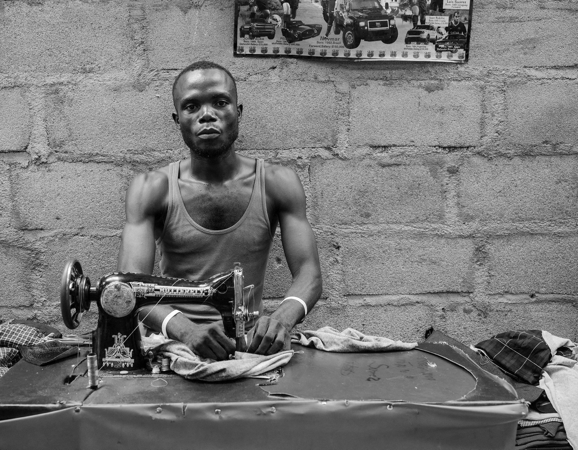 The Sewing Machine Man
