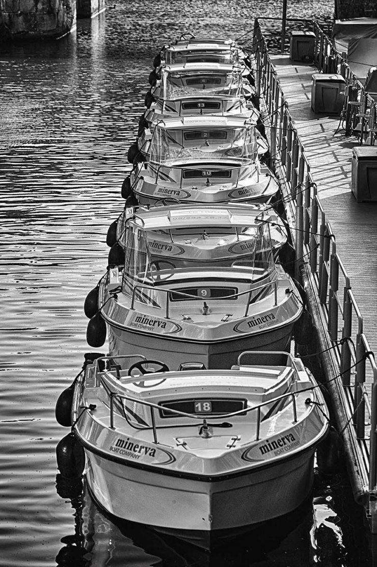 The Boats in a Row