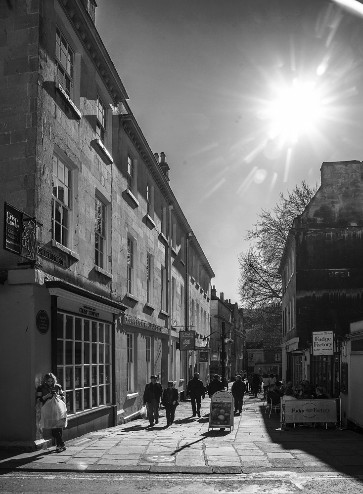 The Street in Bath