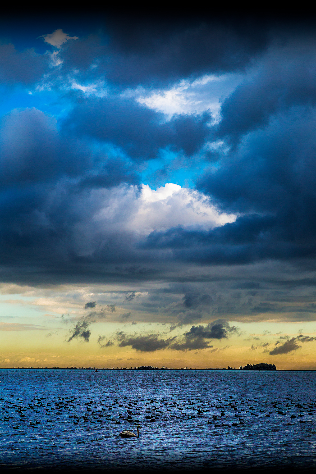 The Stormy Skies Over Marken