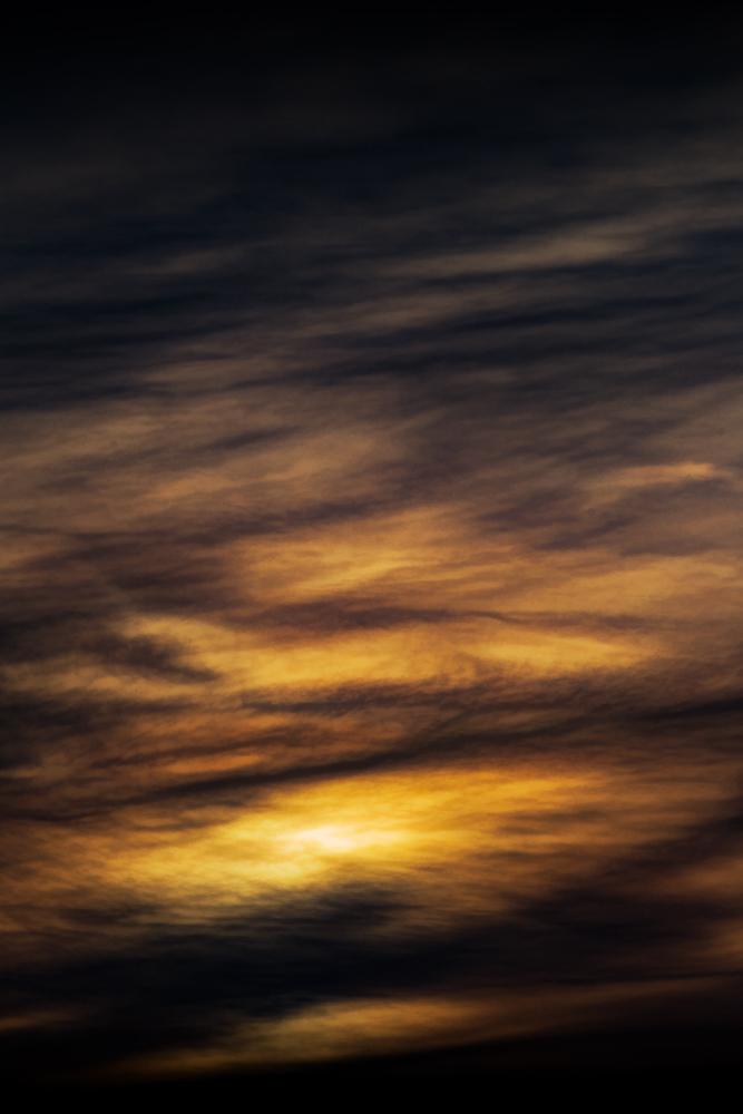 The Winter Sunset