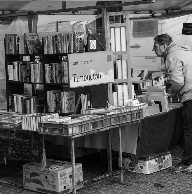 The Amsterdam Market Book Stall