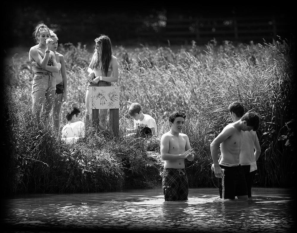 The Swimmers and the Admirers