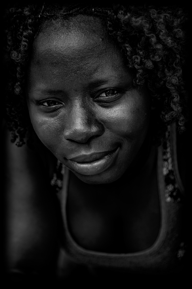 The Beautiful African Woman