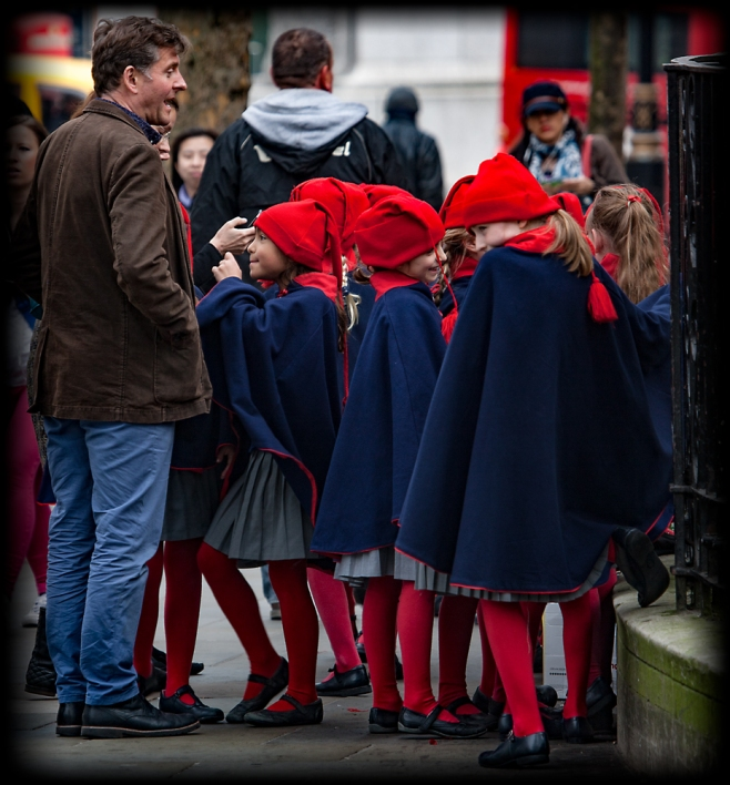 The Red Hats and Blue Capes
