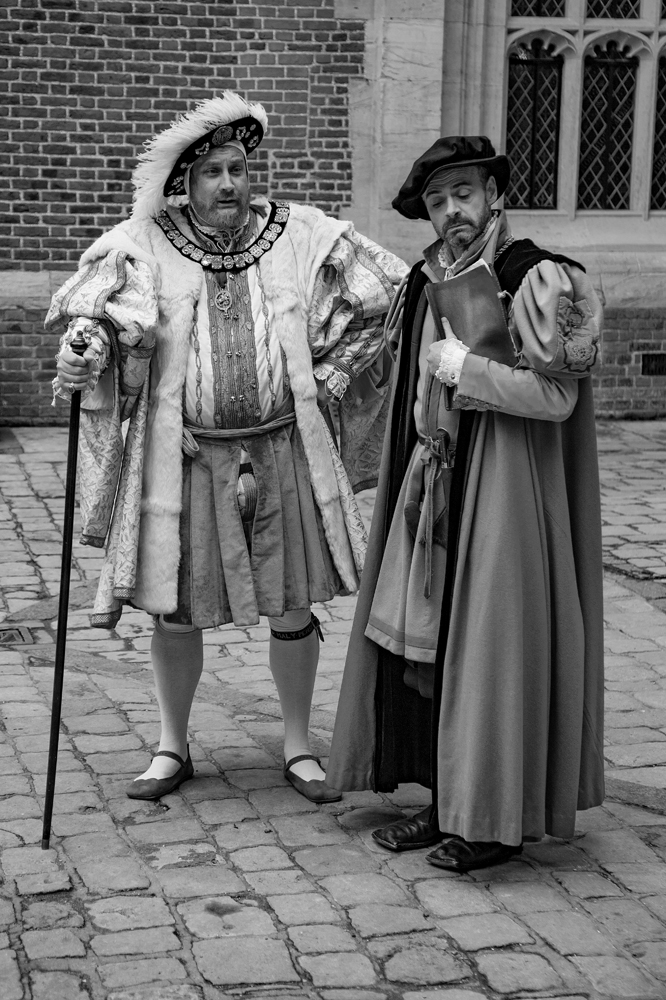 King Henry and his pal