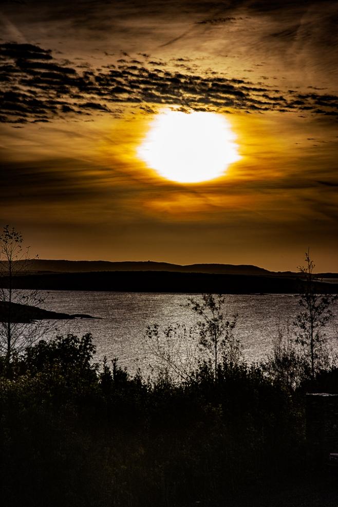 The Murky Sunset