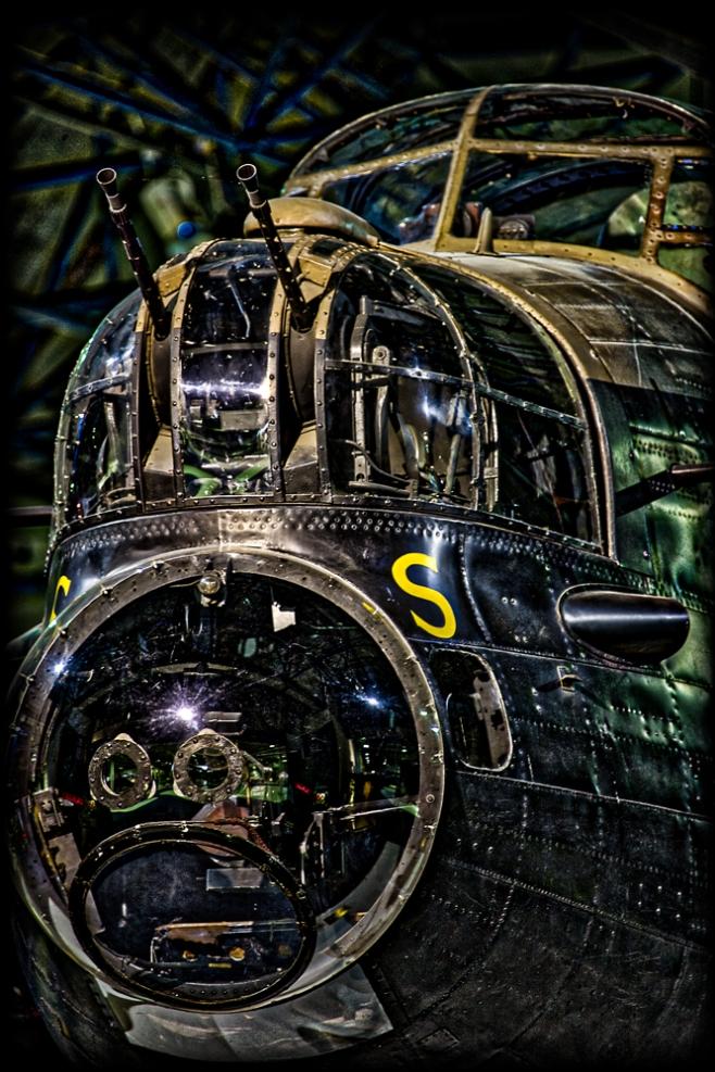 The Front Gunner & Bomb Aimer