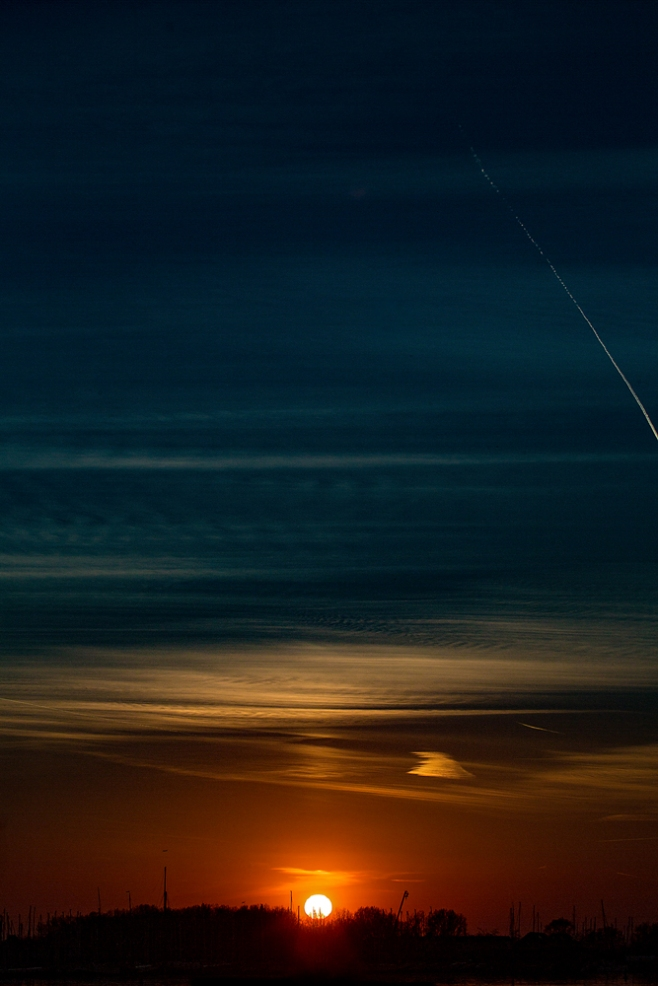 The Strange Sky and the Vapour Trail