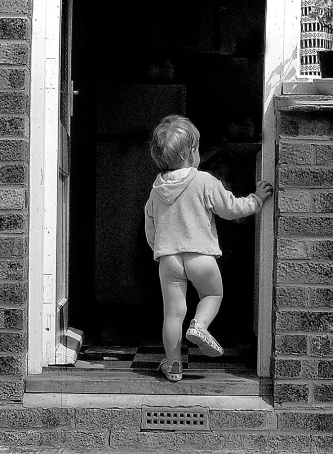 The Little Boy Who Forgot Something....