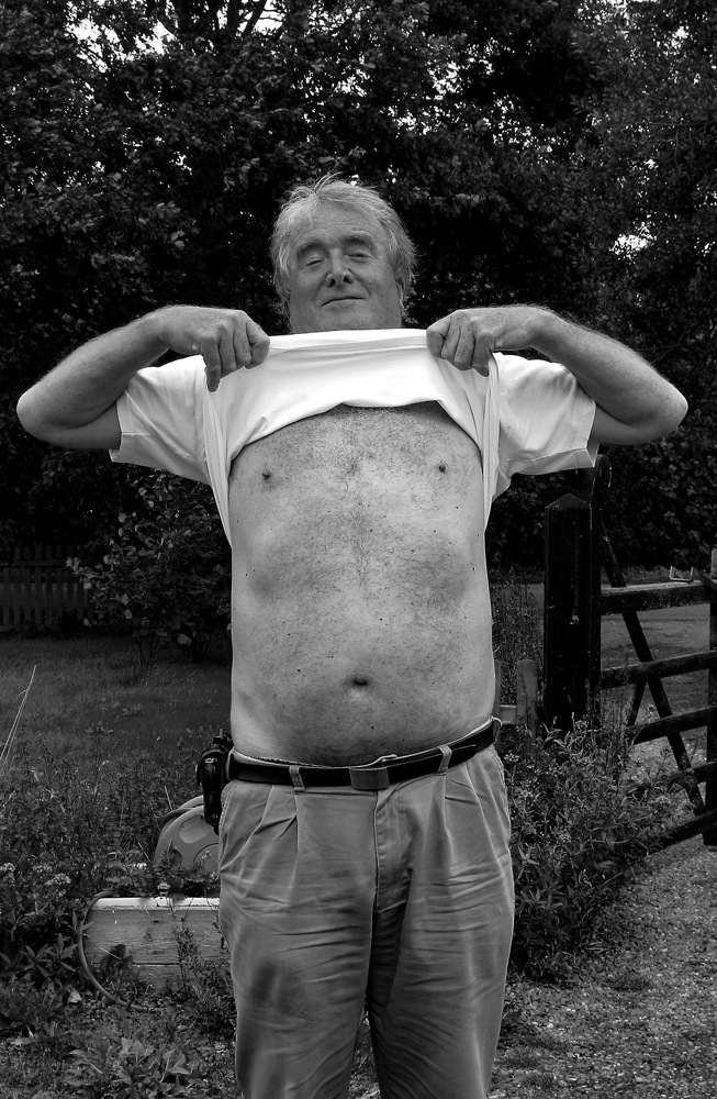 The Disgusting Old Fat Photographer!