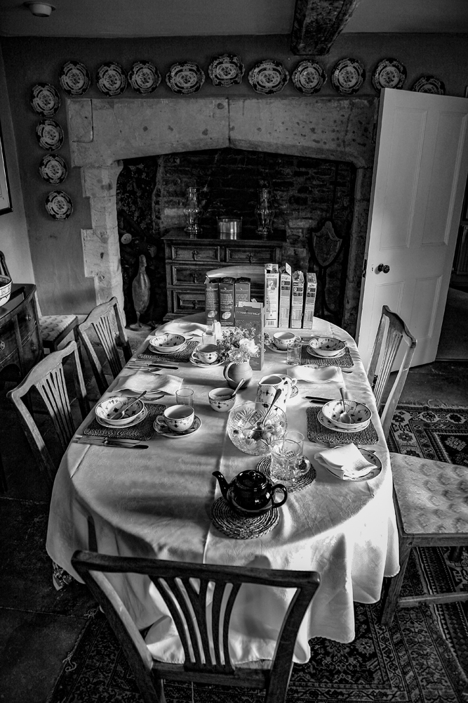 The Breakfast Table in the Cotswolds