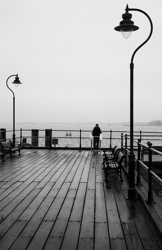The Man On The Pier