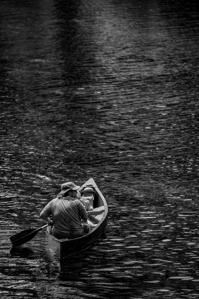 The Woman Who Paddles