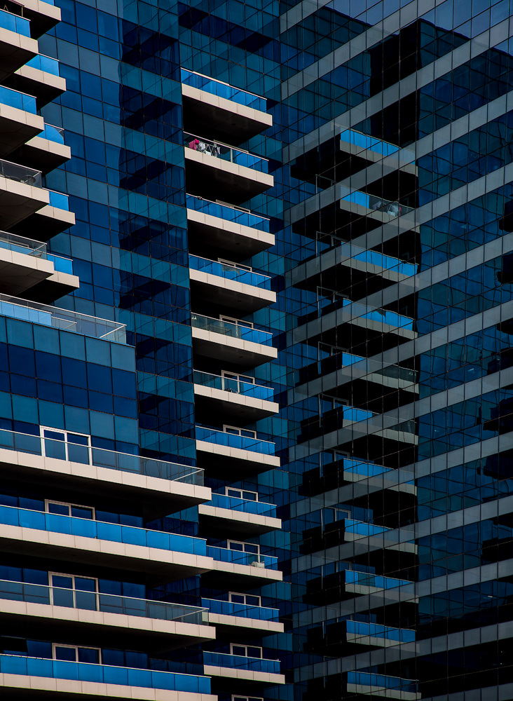 The Blue Balconies