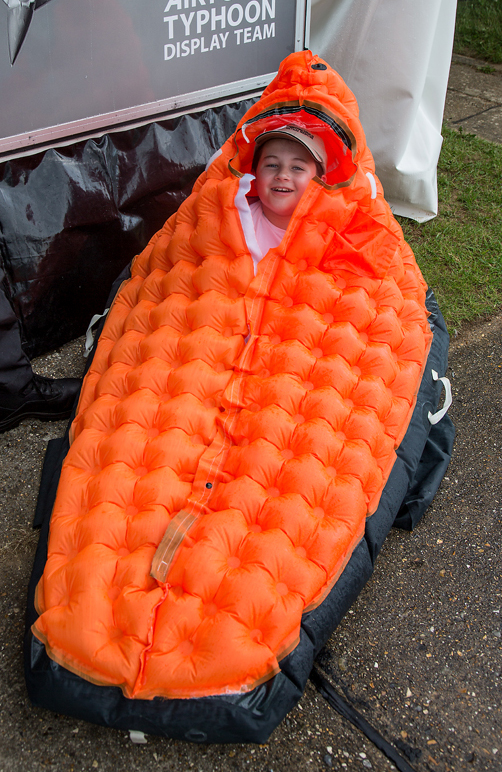 The Orange Life Raft