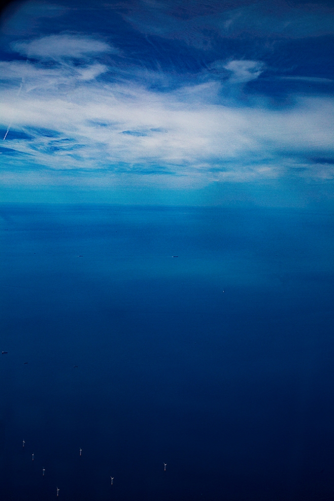 The Sea Far Below and the Sky High Above...