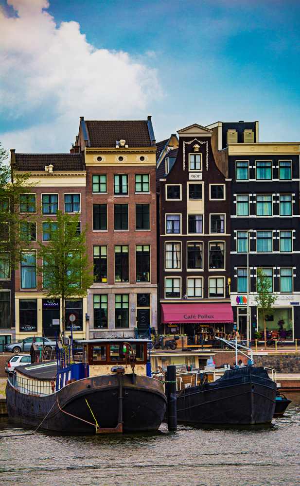 The Amsterdam Street Scene