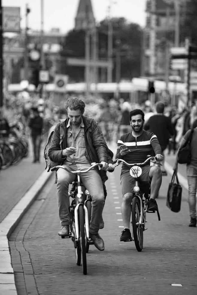The Text Messengers (Amsterdam Style)