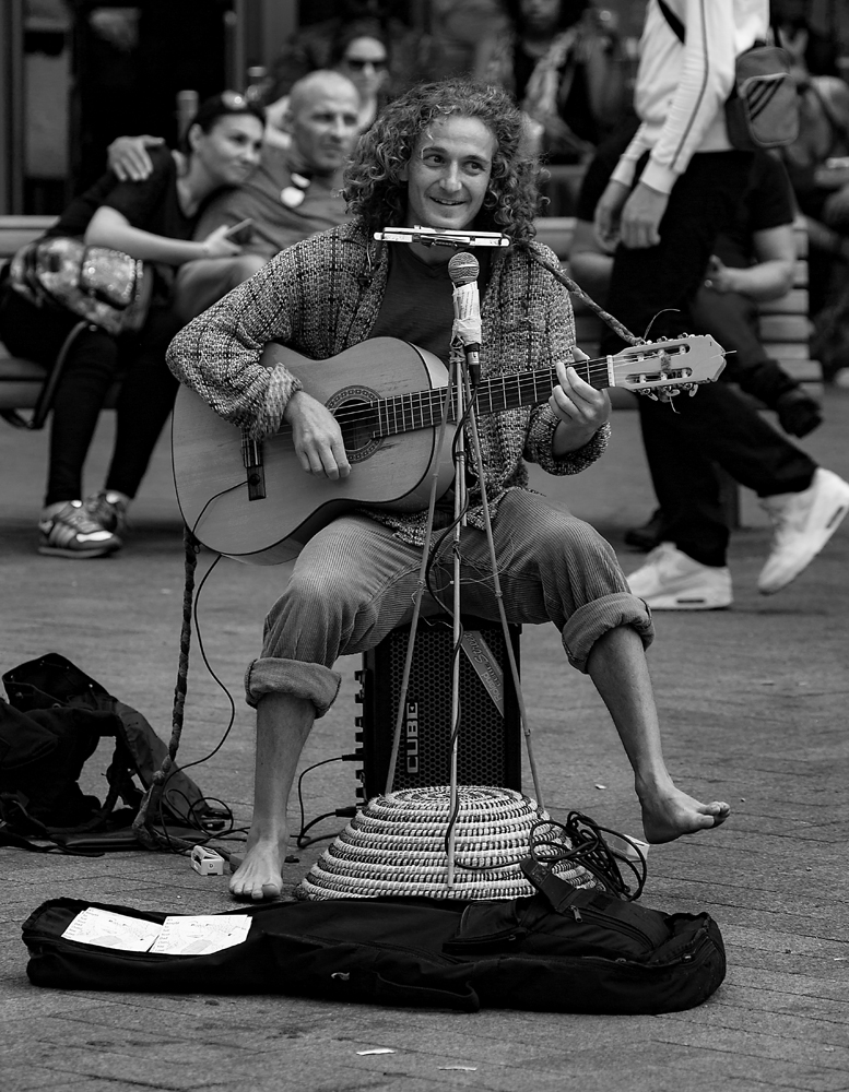 The Lively Busker