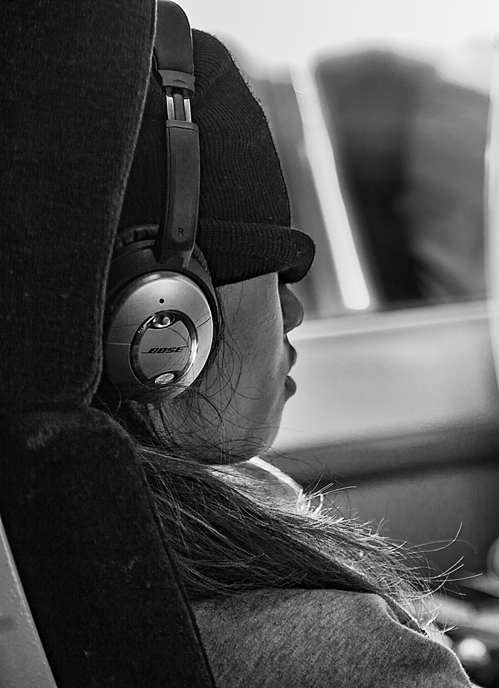 The Headphone Girl
