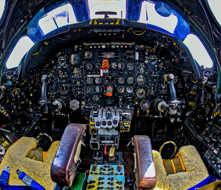 The Vulcan Cockpit