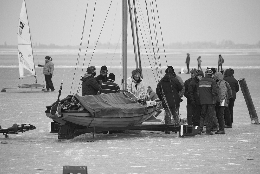 The Ice Boat Gathering