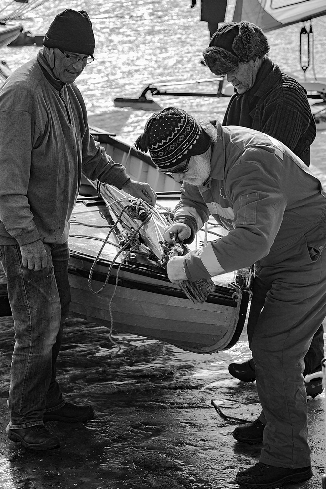 The Ice Boat Riggers