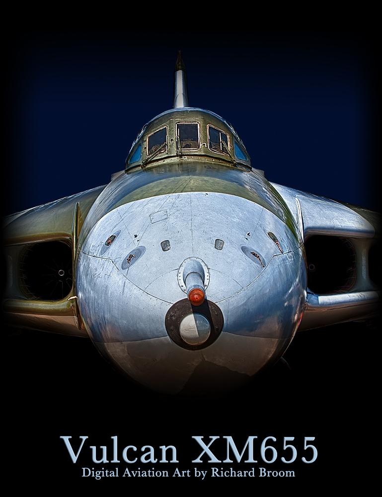 The Vulcan XM665 Poster