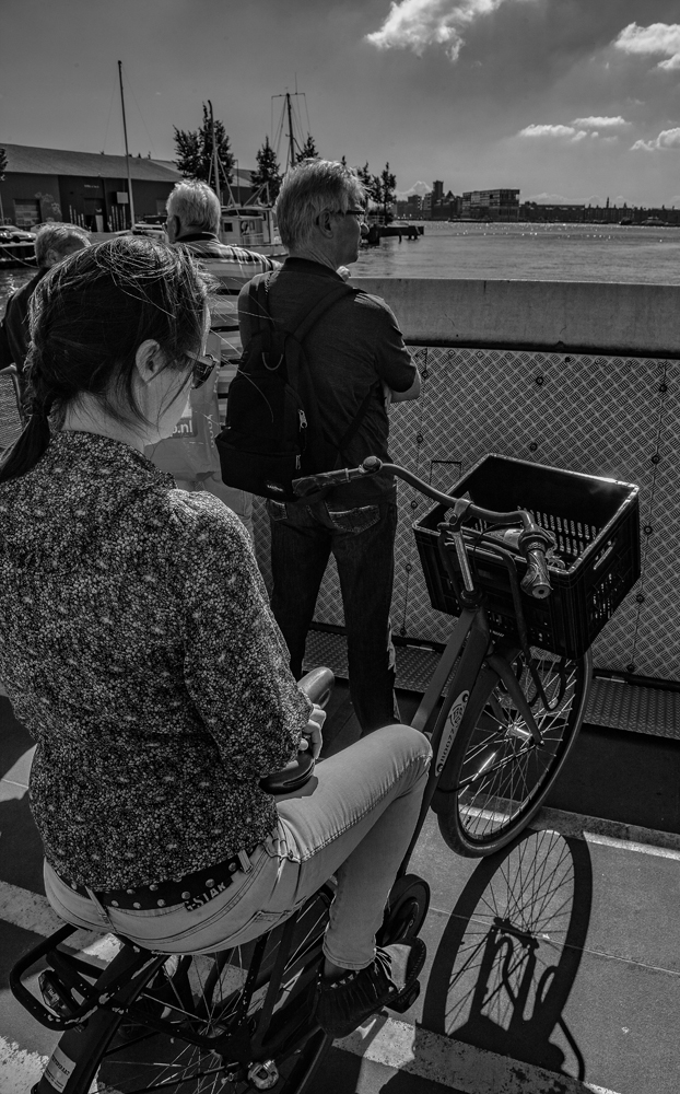 The Bike on the Ferry...