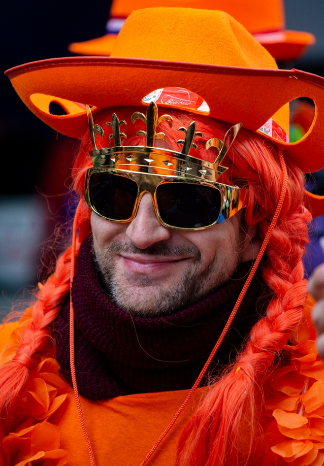 The King's Day, Amsterdam, April 2018