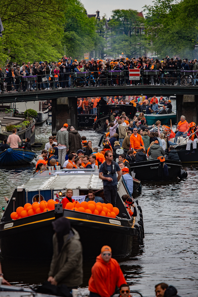 The King's Day, Amsterdam