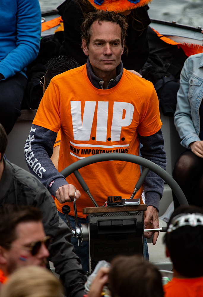 THE KING'S DAY, AMSTERDAM (17): The VIP