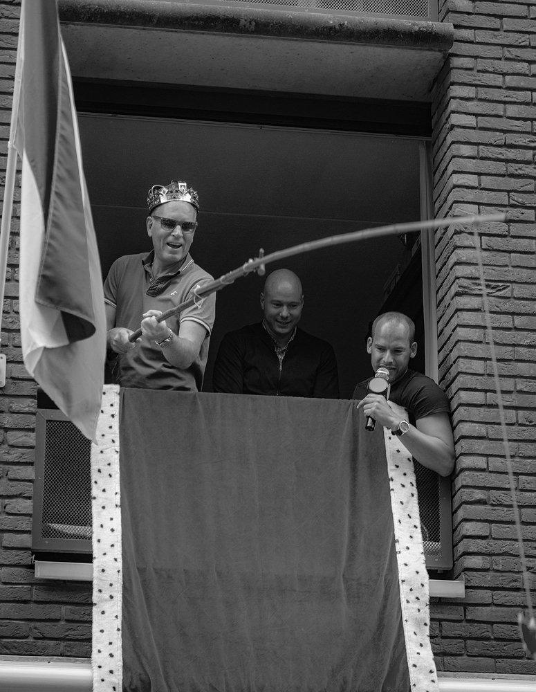 THE KING'S DAY, AMSTERDAM (32): The Fisher King