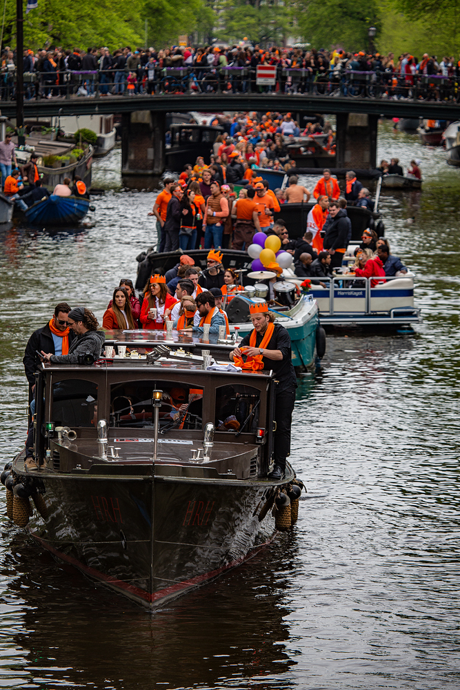 THE KING'S DAY, AMSTERDAM (25): The Traffic Jam